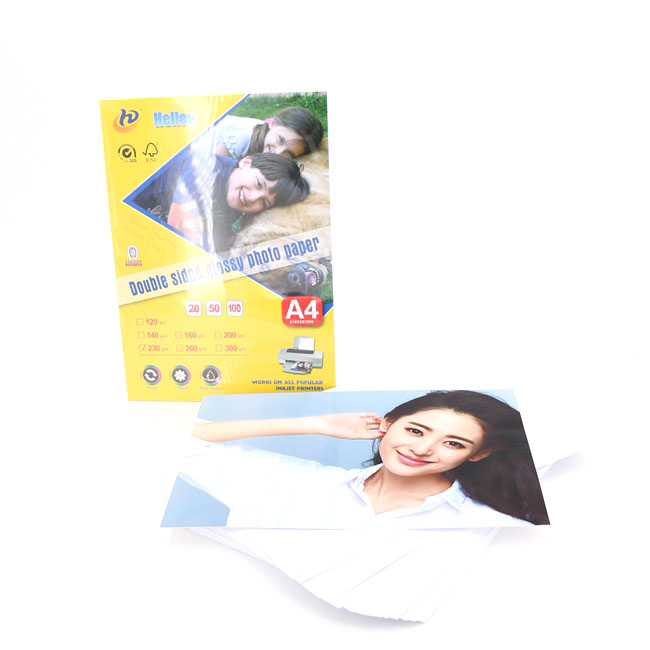 Double Sided Glossy Photo Paper 180g