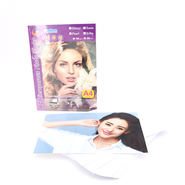 RC Glossy Photo Paper 190g
