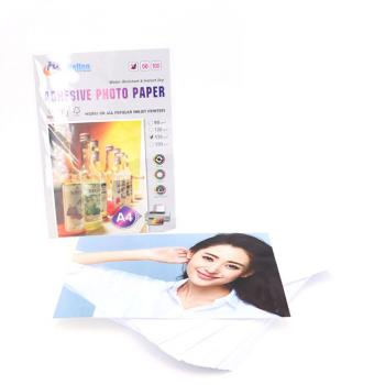 Self Adhesive Glossy Photo Paper 135g